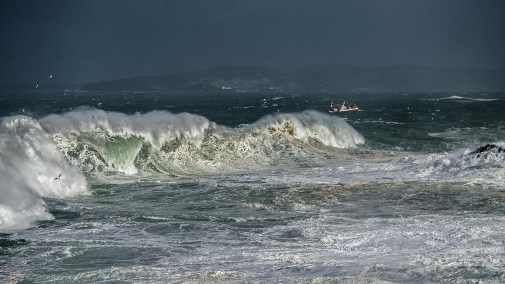 Barco tormenta