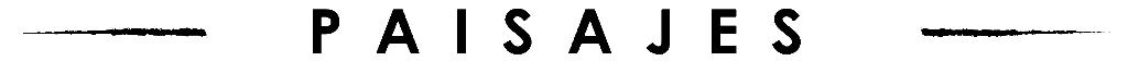 Logo Fotografia - Paisajes